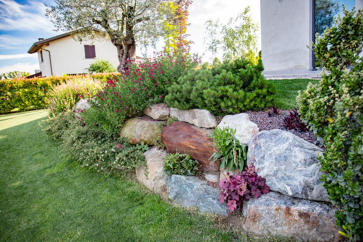 Contenimento terra - Terrazzamenti giardino ...