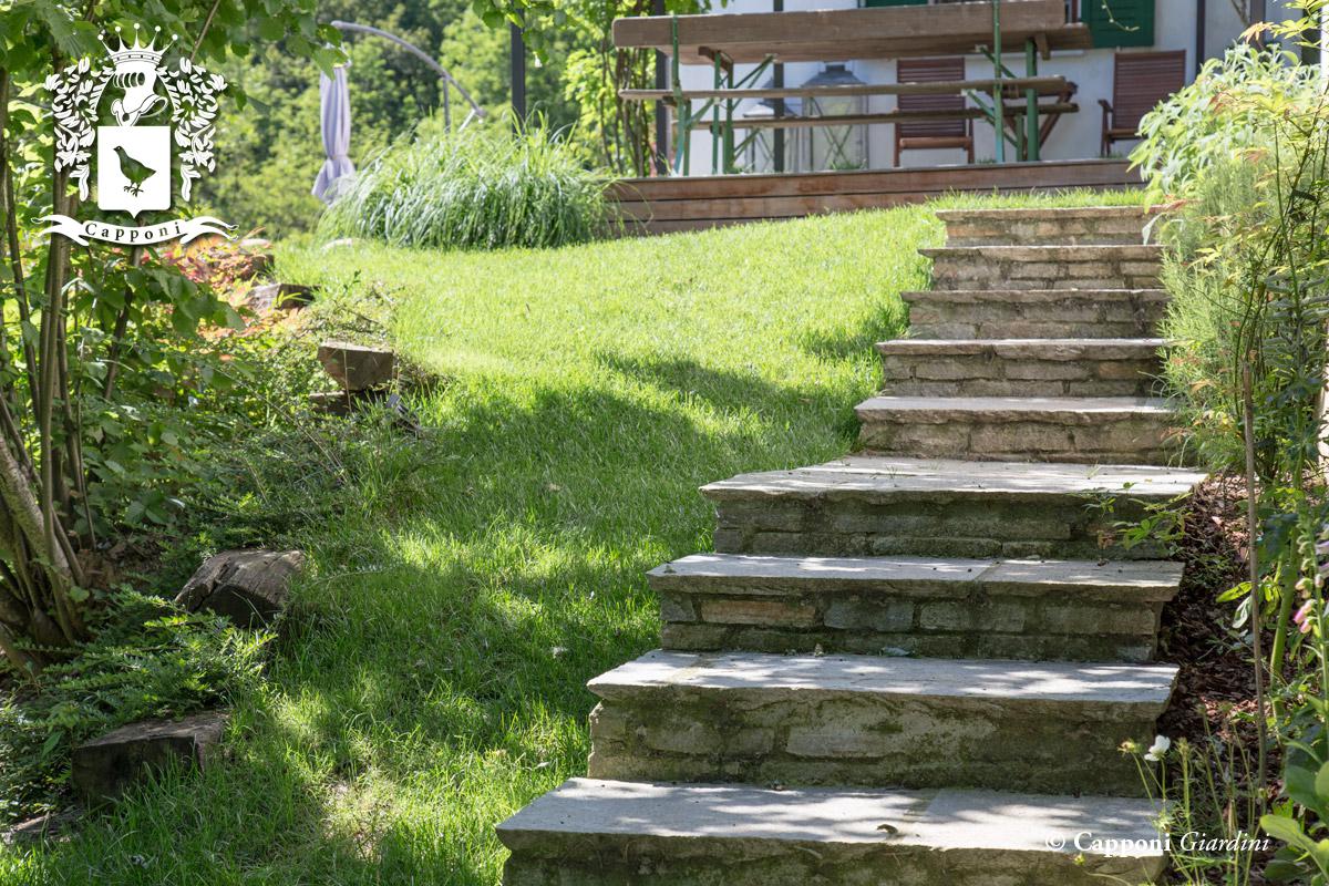 Pavimentazioni e camminamenti for Terra per giardino